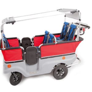 Winther E-Turtle Kinderbus für 6 Kinder mit Motor
