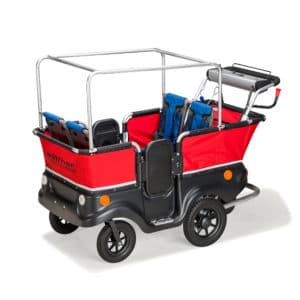 Winther E-Turtle Kinderbus für 4 Kinder mit Motor