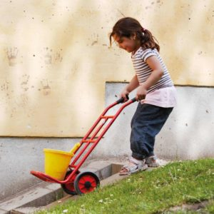 Winther MINI VIKING Sackkarre (Kinderfahrzeug | 2-4 Jahre | 8600416)