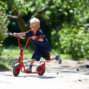 Winther MINI VIKING Roller mit 1 Hinterrad (Kinderfahrzeug | 3-4 Jahre | 8600434)