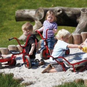 Winther MINI VIKING Krippendreirad mit Wanne (Kinderfahrzeug | 2-4 Jahre | 8600447)