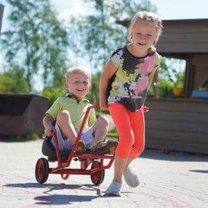 Winther MINI VIKING Sulky (Kinderfahrzeug | 2-4 Jahre | 8600448)