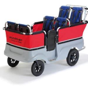 Ersatzteile Turtle Kinderbus Basic für 6 Kinder